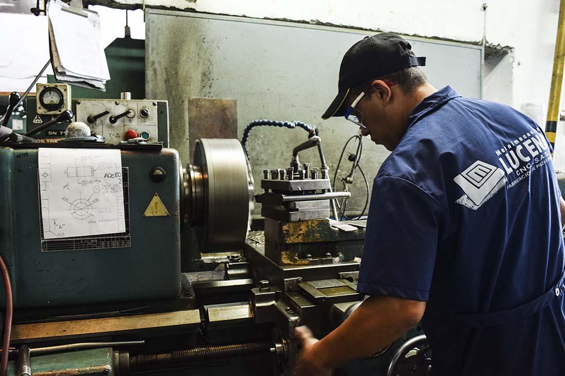 Metalmecánica Lucena CNC – S.A.S.